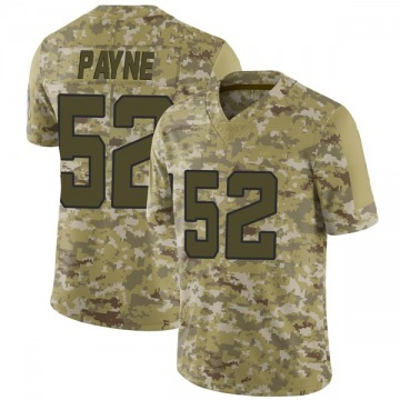Youth Donald Payne Jacksonville Jaguars Limited Camo 2018 Salute to Service Jersey